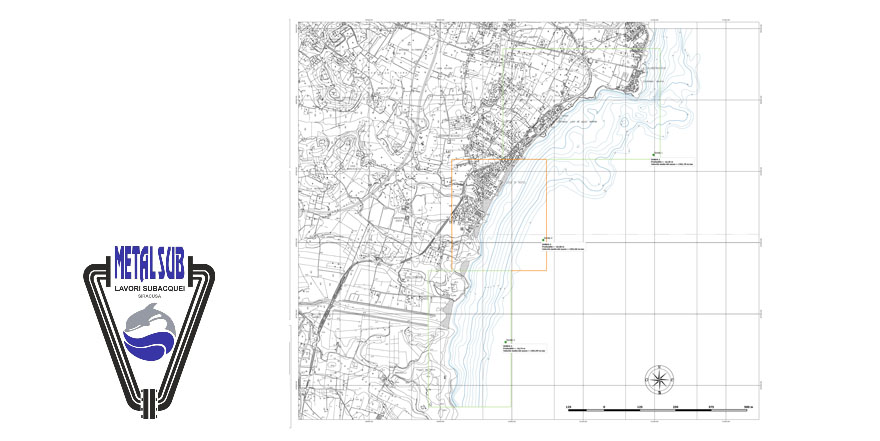 SBES bathymetric survey of the tiny offshore of Noto (Sr), supporting project of coastal erosion mitigation