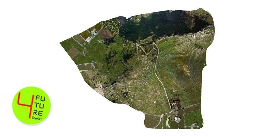 Drone survey and DTM reconstruction of the Archaeological Park of Monte Saraceno (AG)- Sicily