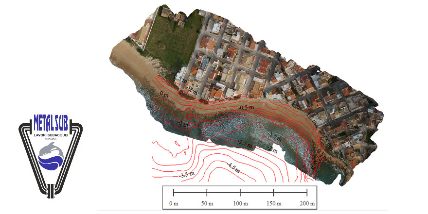 UAV and AUV survey in Santa Croce Camerina (Rg) supporting analyses and monitoring of posidonia Oceanica
